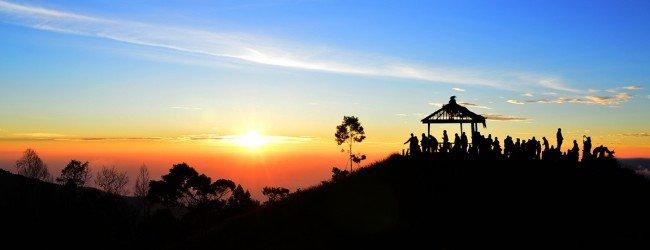 Sunrise Terindah ada di Sikunir